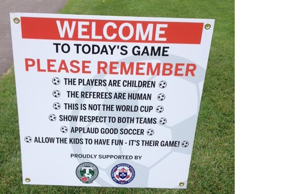 Respecting the Game and all who participate in it!